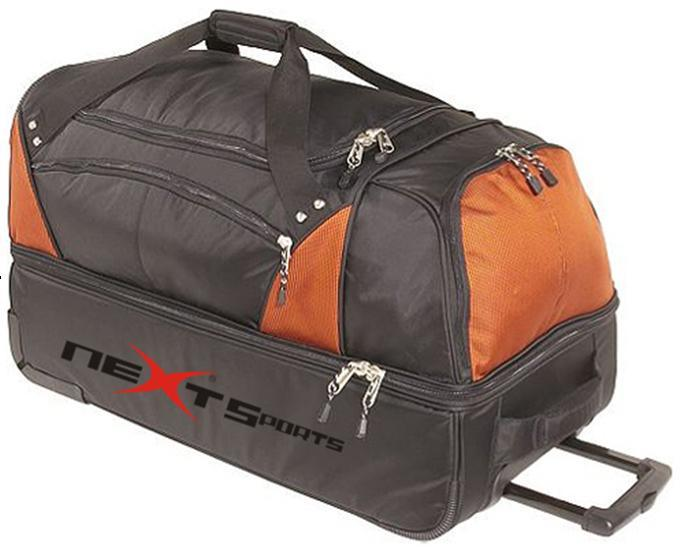 China Rolling Wheel Trolley Sport Gear Travel Duffel Luggage ...