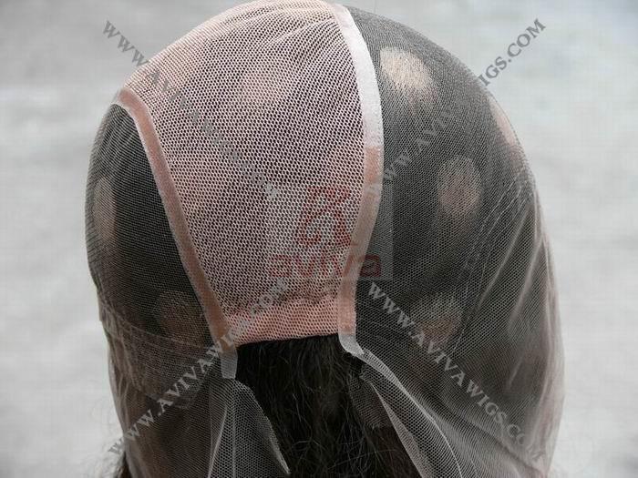 Silky Base Human Hair Full Lace Wig (AV-W015A)