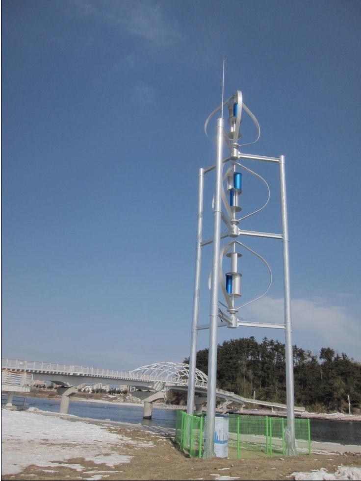 300W Wind Generator (Wind Turbine WKV200W-10KW)