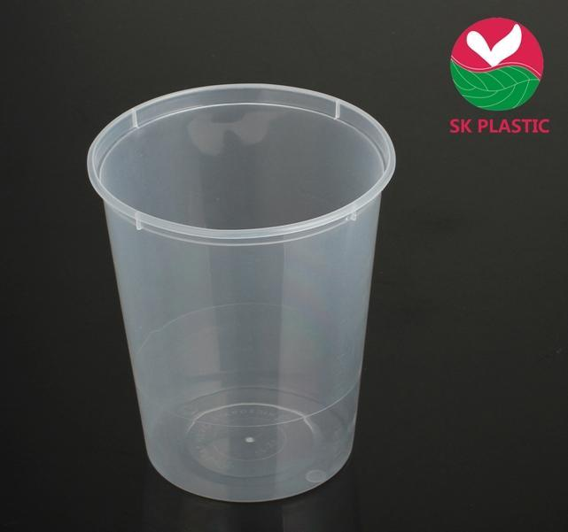 Microwaveable Plastic Food Container (SK-32)