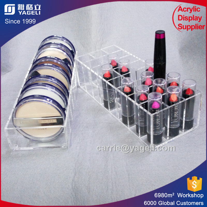 Popular Style Black Rotating Acrylic Lipstick Stand