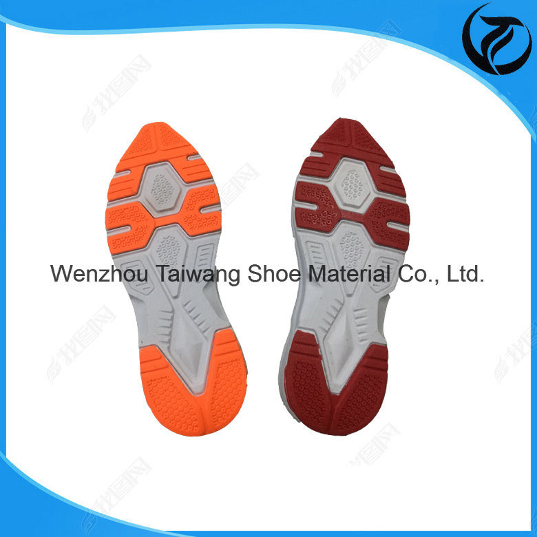 Colorfor TPR Soles for Sports Shoe with Gold Supplier