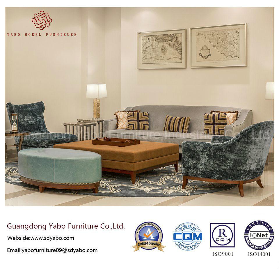 Five Star Modern Hotel Lobby Furniture With Sofa Set (HL 2 1)
