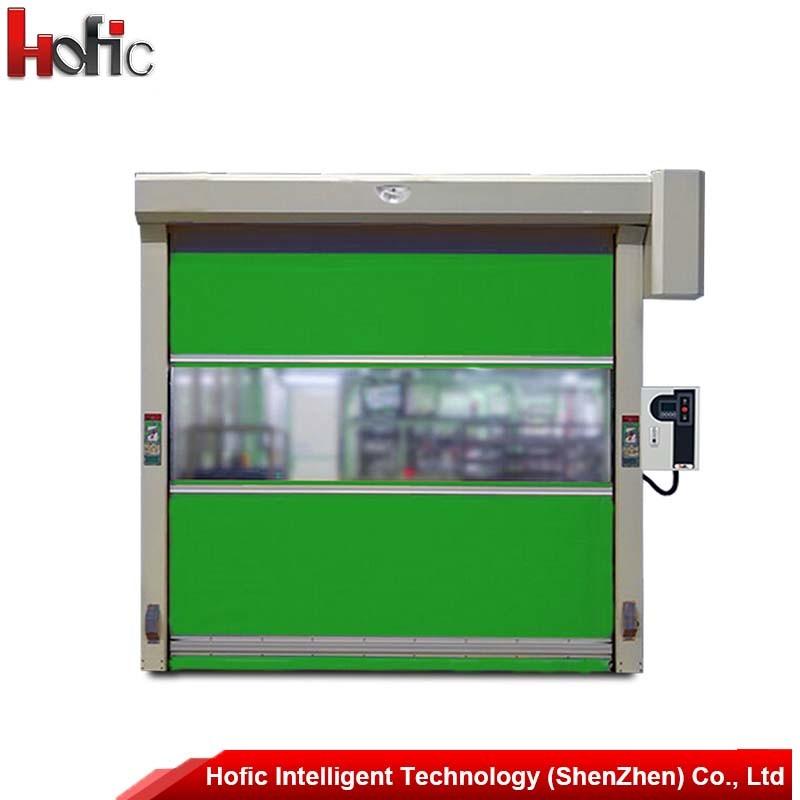 Industrial PVC Rolling up High Speed Rolling Door