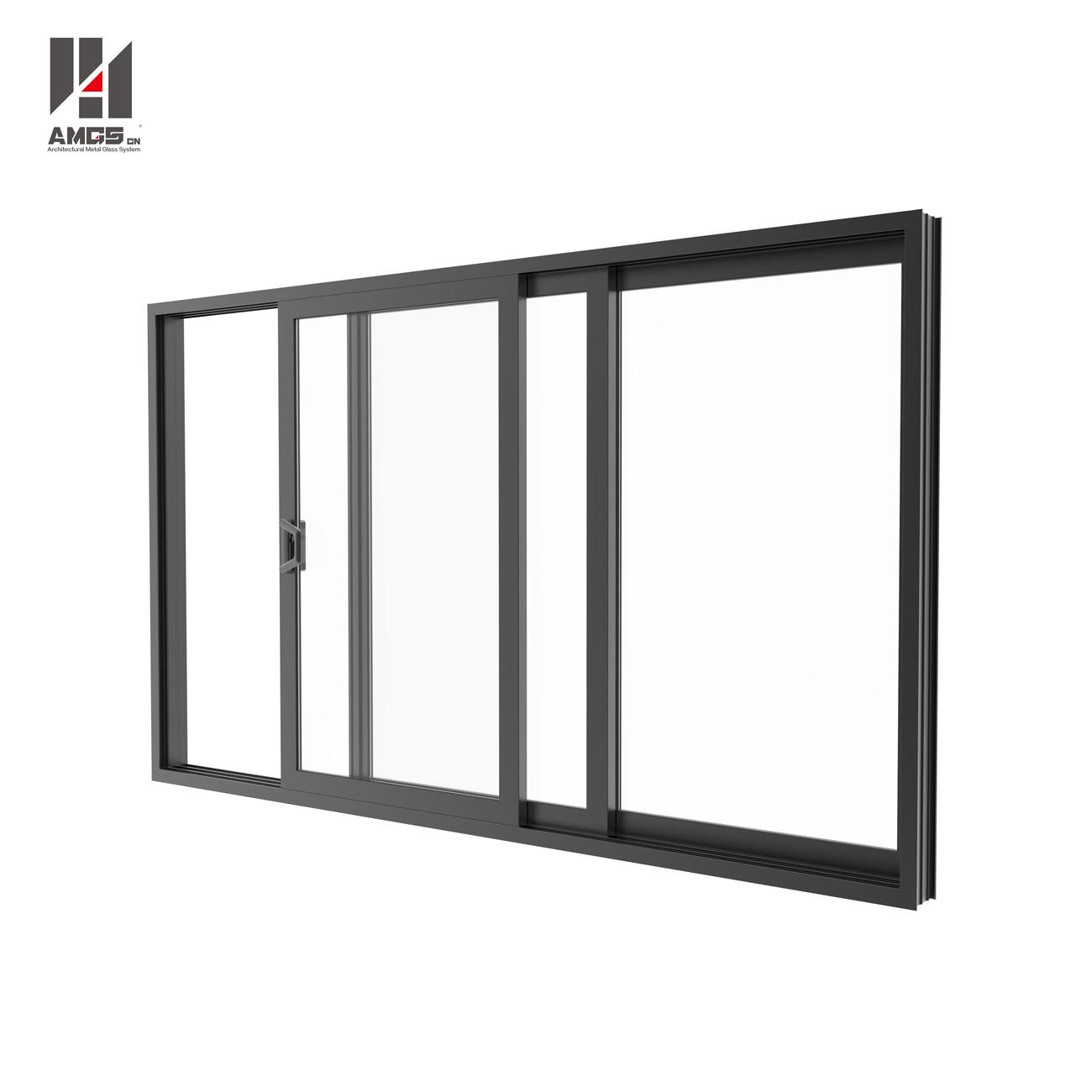Modern Latest Design Doors Windows Price of Aluminum Sliding Window with Mosquito Net