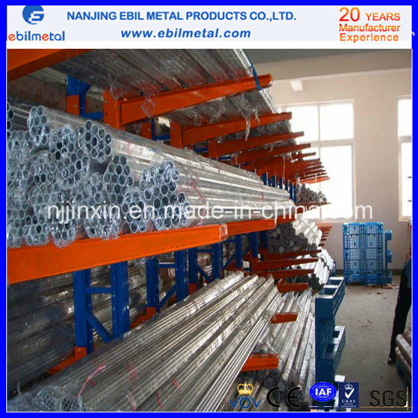 ISO9001 Double-Side Arm Round Pipe Cantilever Rack System (EBIL-XBHJ)