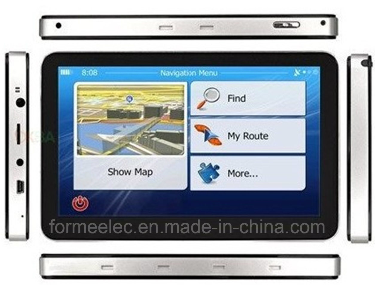 7 Inch GPS Navigator Car Navigation 128MB 4GB for Vehicle