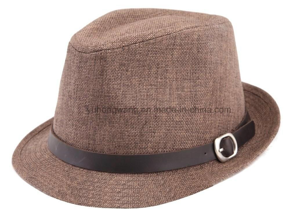Customized Fashion Men Straw Hat, Summer Sports Baseball Cap