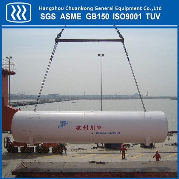 Cryogenic Liquid Oxygen Nitrogen Argon CO2 Stainless Steel Storage Tank