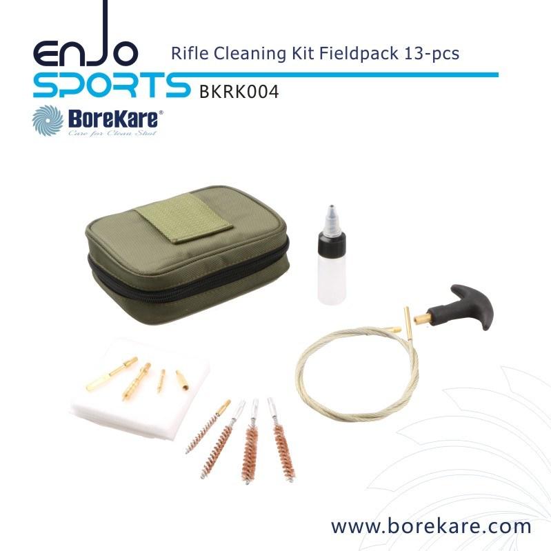 13-PCS Military Fieldpack Gun Cleaning Rifle Kit