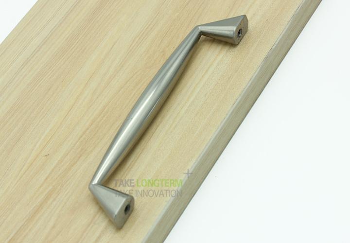 Brushed Satin Nickel Modern Kitchen Cabinet Accessories Cupboard Door Handle
