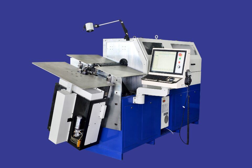 Automatic CNC Wire Forming Machine with 7 Axis Spring Machine Wire Bending Machine