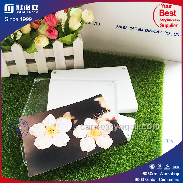 2016 Unique Style Crystal Acrylic Poster Frame