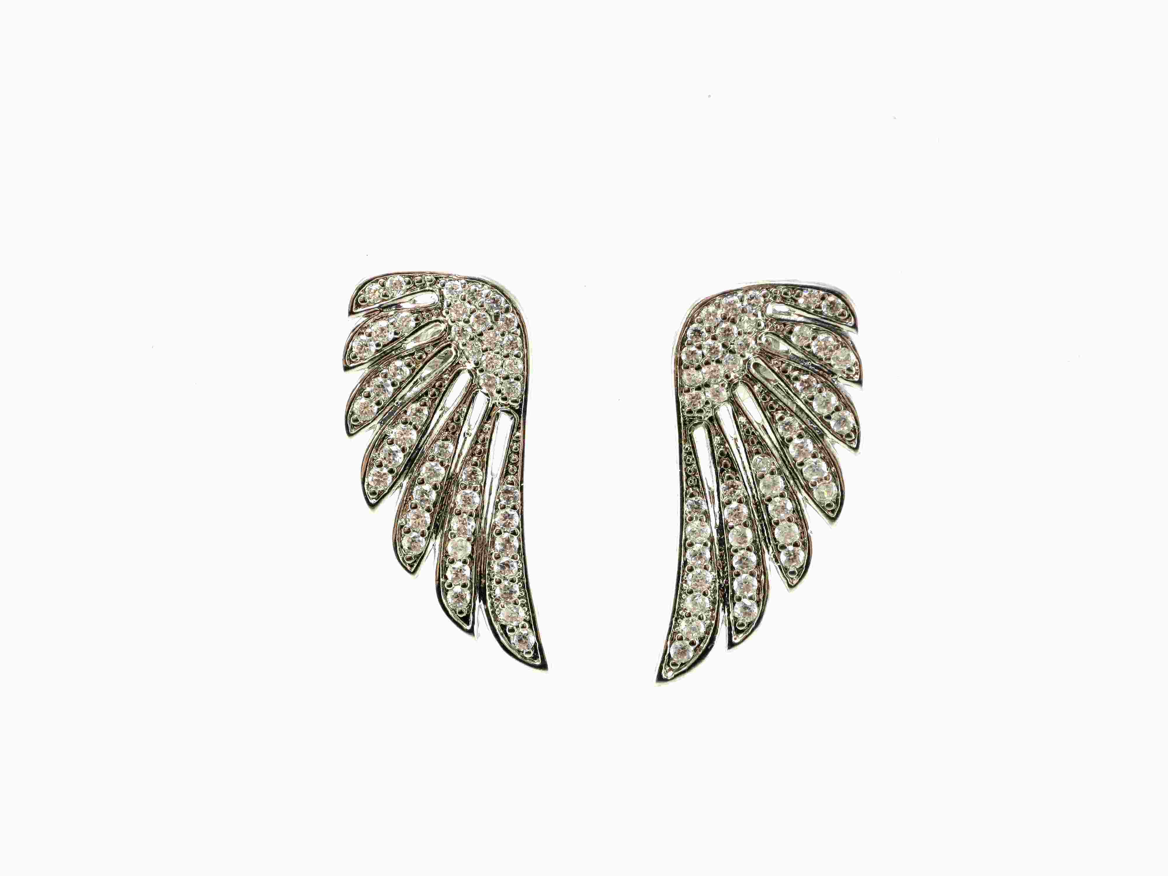 Fashion Jewelry of Angel′s Wing Brings You Flying High up to Your Dream 925 Sterling Silver Earring (E6226)