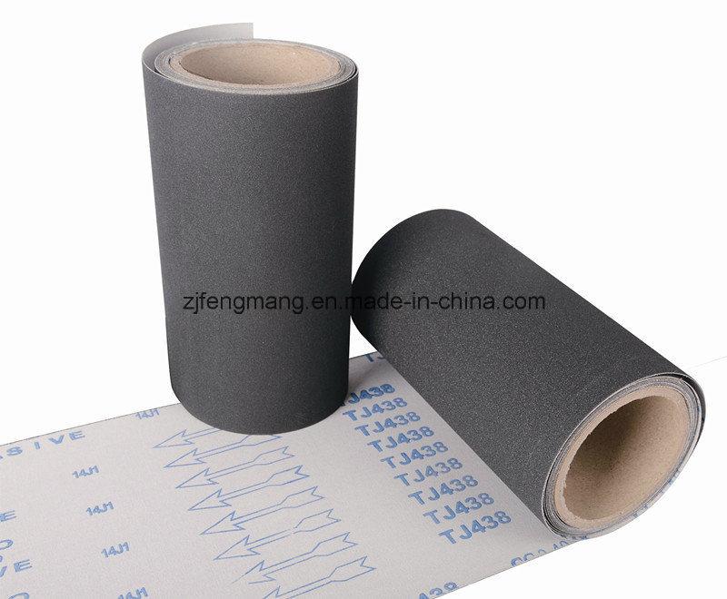 J-Wt Cloth Soft Silicon Carbide Abrasive Cloth Tj438