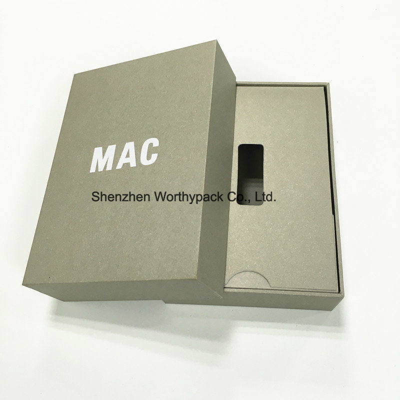 Kraft Rigid Gift Boxes with Medium Size Design