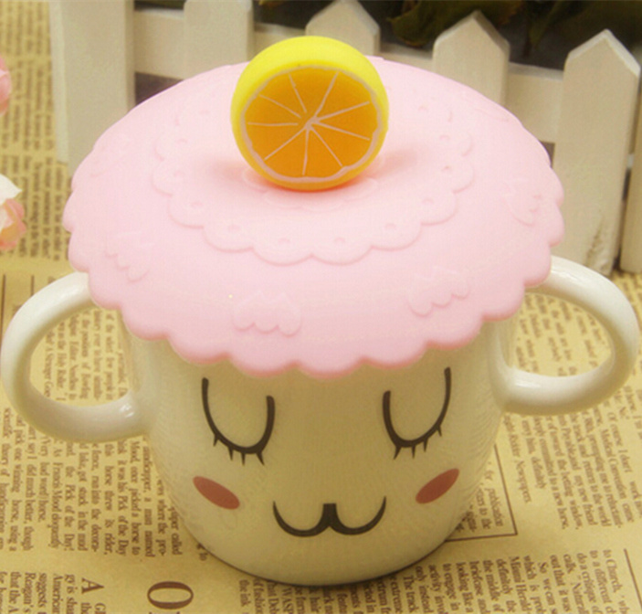 Heat-Resistant 3D Soft Silicone Cup Cover for Coffee Mug