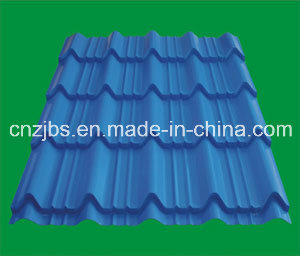 High Quality China Produced Colored Glazed Metal Roofing Tile