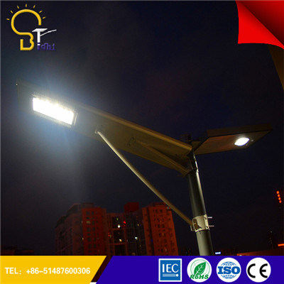 Easy Installation 8W-120W All in One Integrated Solar Street Light