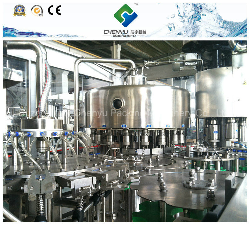Automatic 3 in 1 Drinking Water Filling Machine