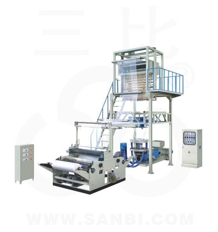 Sj-50 Two-Layer Rotary Die Head PE Film Production Blowing Machinery