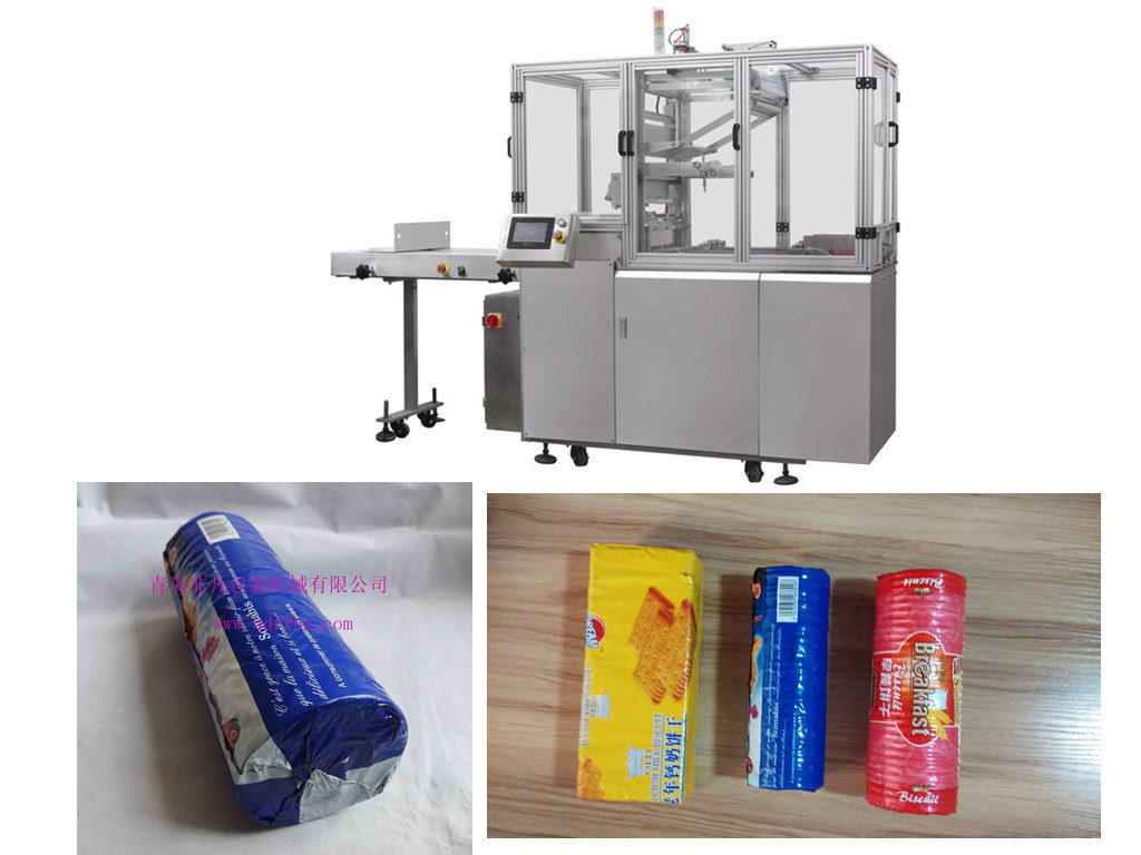 X-Folded on Edge Biscuit Overwrapping Machine (FFT)