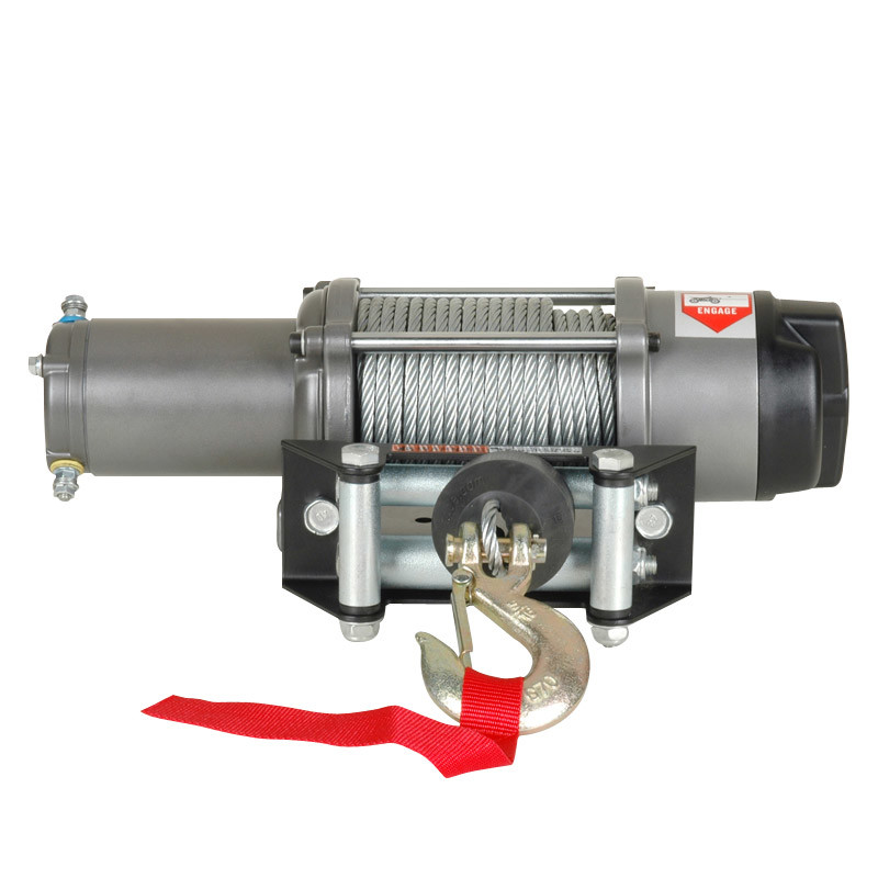 UTV Electric Winch with 4500lb Pulling Capacity (lengthen model)