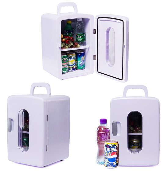 Thermoelectric Mini Fridge 12 Liter DC12V, AC100-240V in Both Cooling and Warming