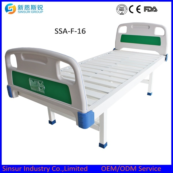 Best Selling Medical Equipment Hospital Ward Flat Medical Bed