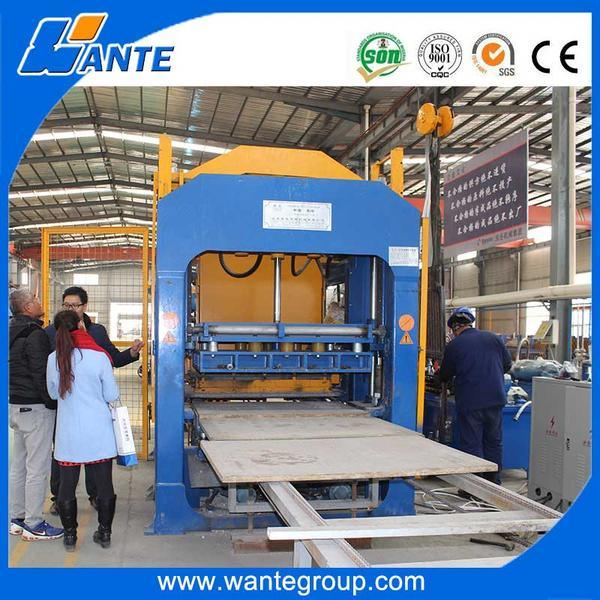 Qt6-15c Hydraulic Press Fully Automatic Brick Making Machine, Guangzhou Block Making Machine