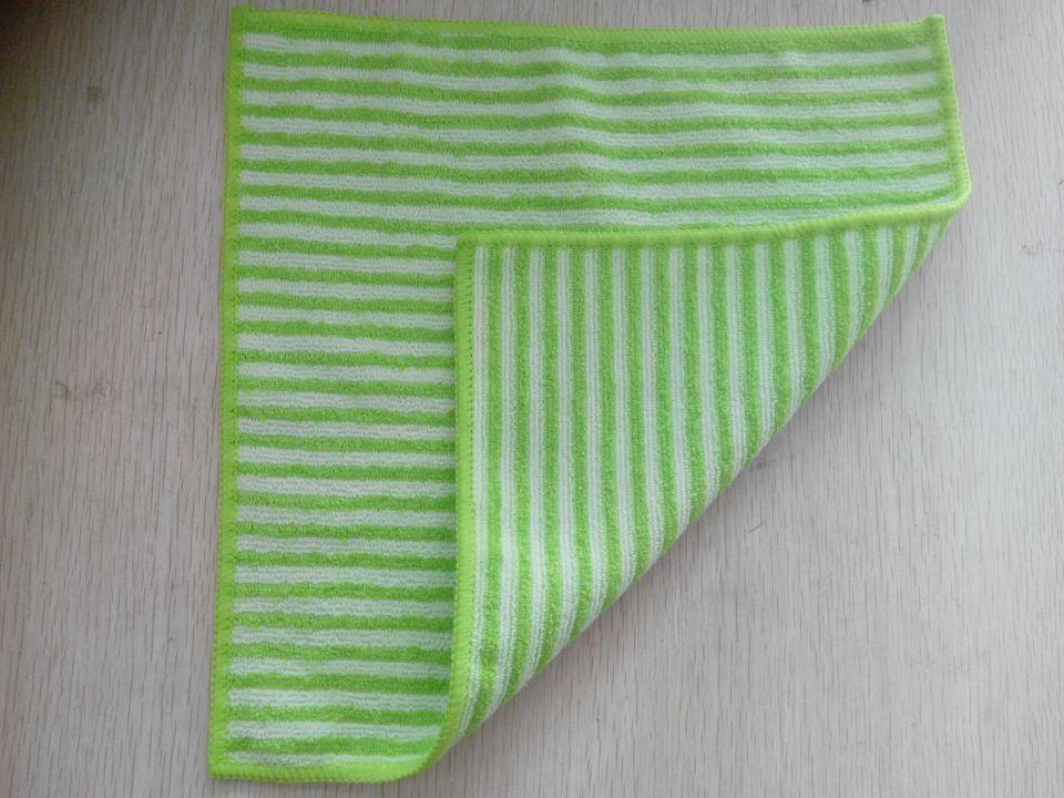Microfiber Bamboo Cloth W/ Line Design/ Pattern
