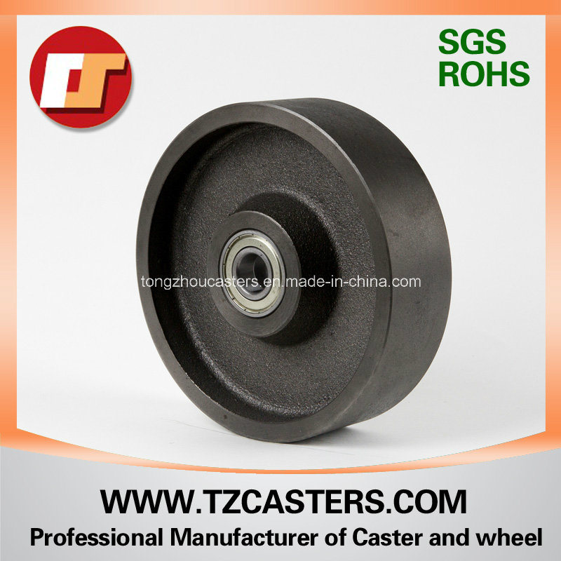 4-8inch V-Groove Cast Iron Wheel