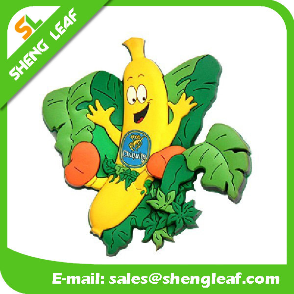 Custom Logo Advertising Promotion Gifts 2D 3D Soft PVC Fridge Magnet