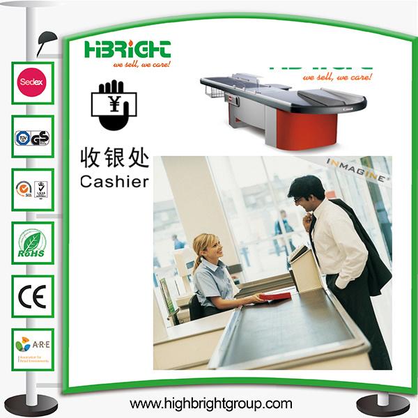 Supermarket Cashier Counter Table Desk