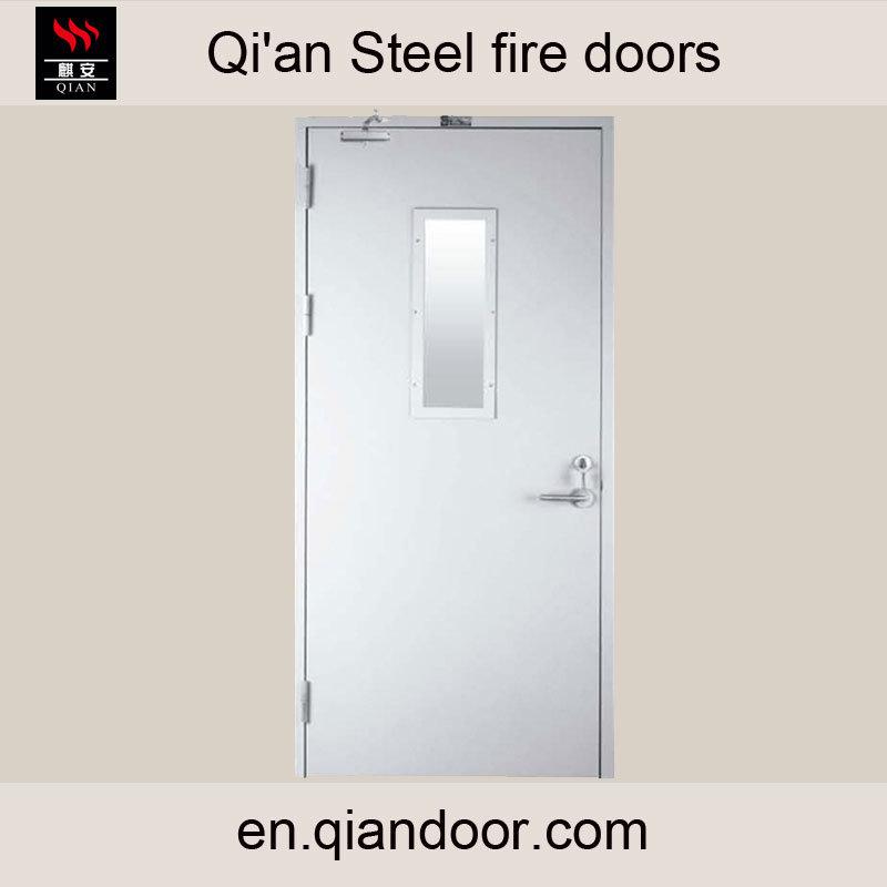 Steel Fire Door with Fireproof Vision Glass