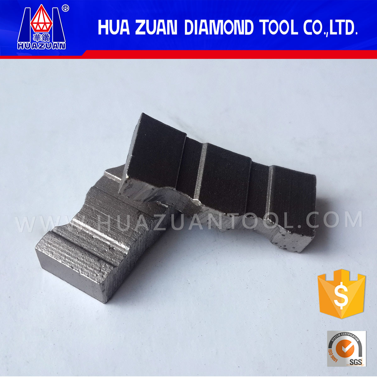 Diamond Core Drill Bit Segment for Construction