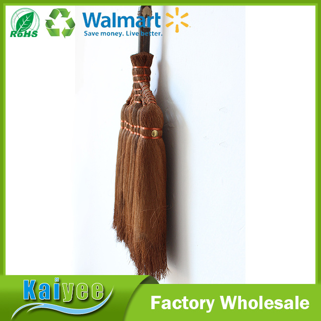 Garden Long Wood Handle Bamboo Brooms Factory in China
