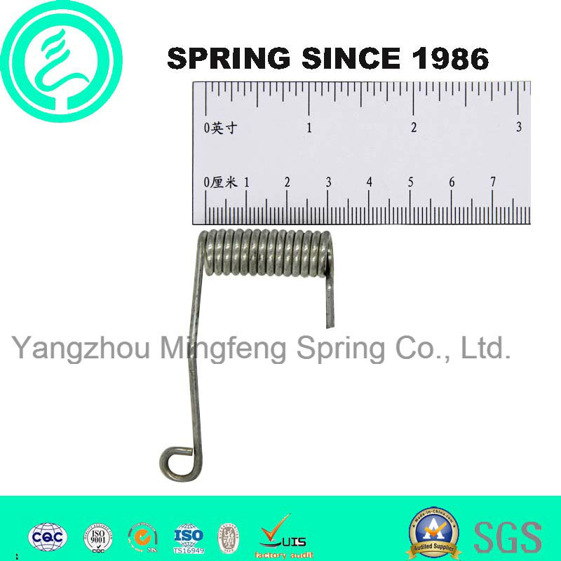 Zinc-Plated Customized Steel Adjustable Torsion Spring