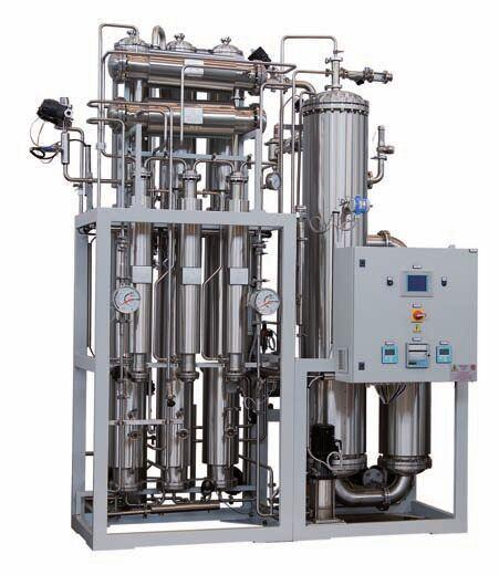 Multi-Column Distilled Water Machine for Pharmaceutical