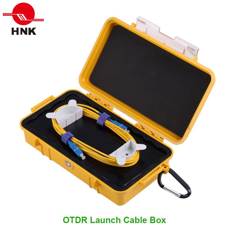 Sc/LC/FC/St/Mu/E2000 PC/Upc/APC Singlemode Multimode OTDR Launch Cable Box