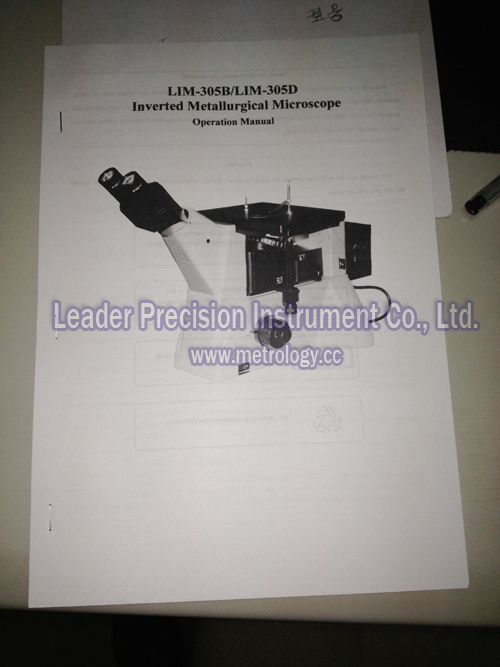 Inverted Metallurgical Microscope for Laboratory (LIM-305)