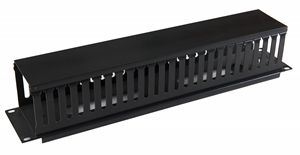 """19"""" Cable Manager Server/Network Rack/Cabinet Cable Routing"""