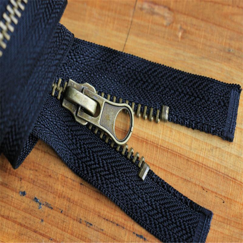 Zipper Invisible Polyester Derlin Metal Brass Nylon Zipper