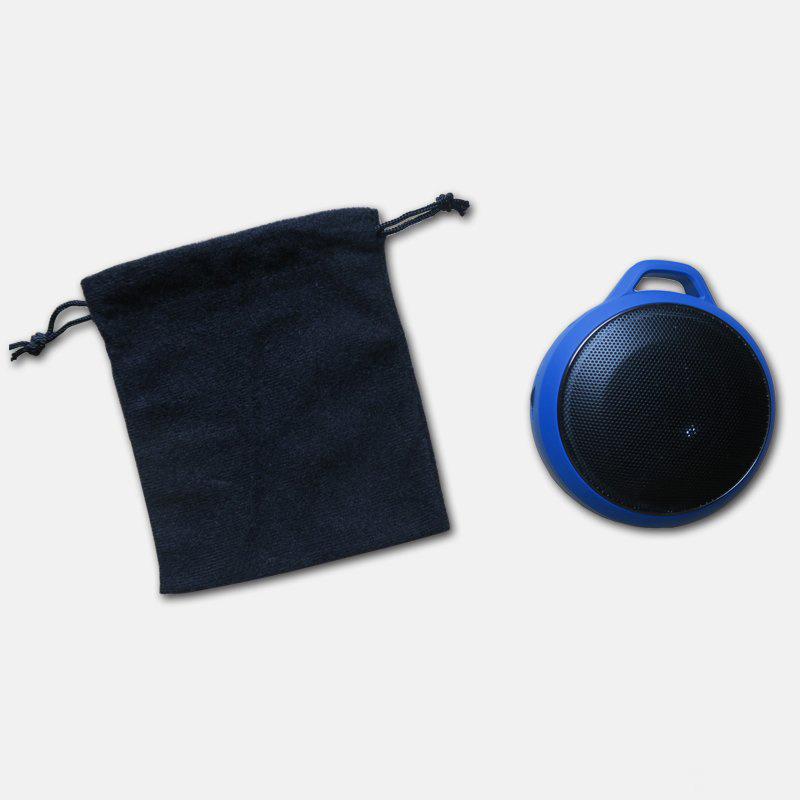 Bluetooth Speaker Drawstring Velvet Pouch