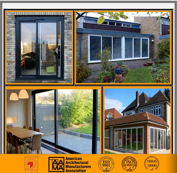 Double Glazed Exterior Sliding Glass/Aluminum Door