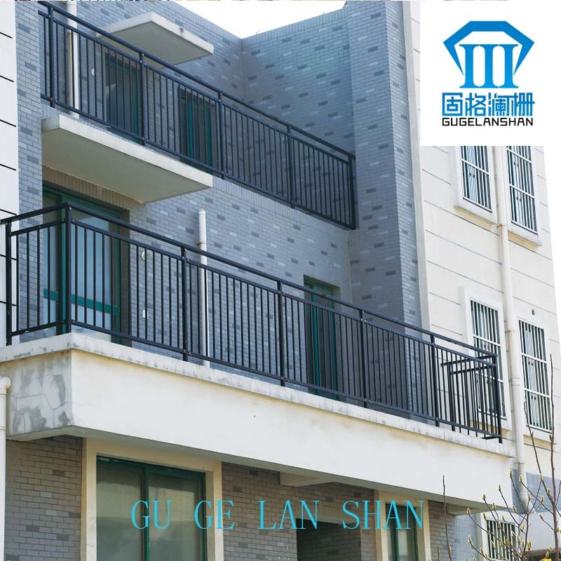 High Quality Wrought Zinc Steel Balcony Guardrail 021