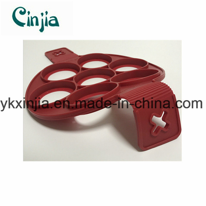 TV Porous Pancakes with Silicone Cake Mould-Xjt60