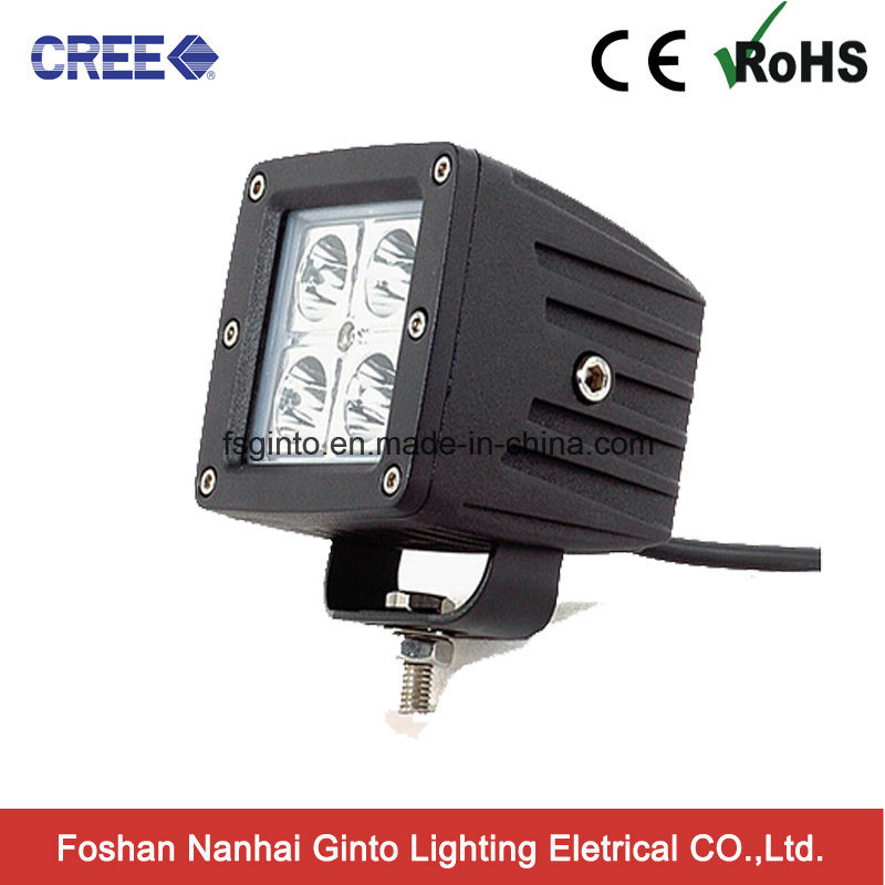 IP67 CREE 16W Cube LED Work Light for Jeep (GT1022-16W)