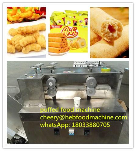 China Customized Cheap Core Filling Puffed Snack Food Making Machine