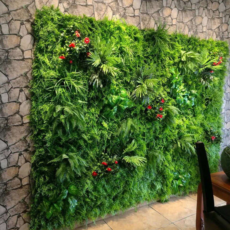 Best Artificial Plant Wall Flowers Wall Wedding Decoration